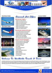 We are one of the best and leading Travels and Tourism Agency in Pakis