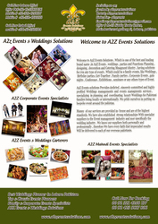 A2z events solutions offer following expertise