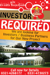 Business Partner & Investor Required