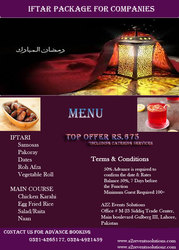 Iftar package for companies