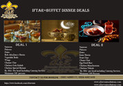Iftar + Buffet Dinner Deals