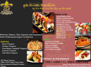 Pakistani,  Chinese,  Thai,  Japanese and Continental Food's Professional