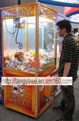 coin machine vending game toy claw machine
